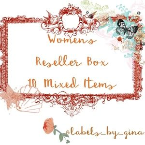 RESELLER BOXES!! 10 AMAZING ITEMS for $75!!